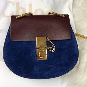BRAND NEW Chloe Mini Drew Crossbody Leather Bag
